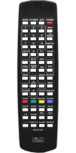 MUVID TV 1903D Replacement Remote - Image 1