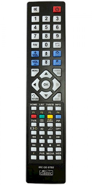 Radix ALPHA 4000/6000PVR Replacement Remote